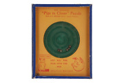 A Vintage R Journet And Co 'pigs In Clover' Game English Circa 1950
