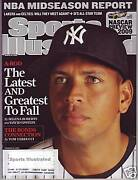 Sports Illustrated 2009 New York Yankees Alex Rodriguez Subscription Issue Nr/m