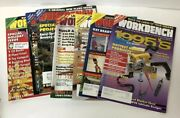 Lot Of Work Bench Magazines Wood Working Projects