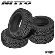 4 X New Nitto Trail Grappler M/t 285/65r18 125/122q Off-road Traction Tire