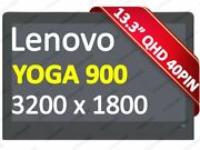 New 13.3and039and039 Lenovo Yoga 900-13isk2 80ue 80mk Lcd Touch Screen Assembly Display
