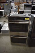 Ge Jk5500sfss 27 Stainless Electric Double Wall Oven Nob 39413 Hrt