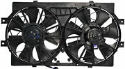 Radiator And Condenser Fan For Dodge Intrepid Chrysler Concorde Ch3115108