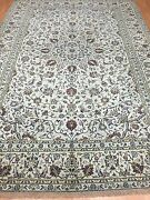 7and0399 X 11and0392 Indian Floral Oriental Rug - 1950s - Hand Made - 100 Wool