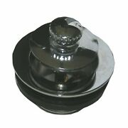 Lasco 03-4897 Bathtub Waste Overflow Strainer With Push Pull Stopper Chrome