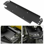 Winch Mounting Plate For 1987-2006 Jeep Wrangler Yj Tj - 12000 Lb Capacity