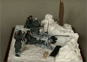 135 Ww2 The German Artillery Soldiers-no Gun High Quality Resin Kit 4 Figures