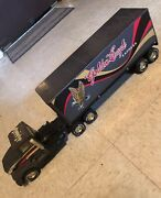 Vintage Nylint Golden Eagle Express Metal Muscle Semi Truck Tractor Trailer.🔥🔥