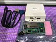 National Instruments Pxi-6259 Ni Daq Card With Scc-68 Terminal Block And Cable