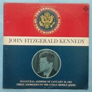 John F. Kennedy The Presidents Of The United States 1968 Us Vinyl Lp Record