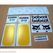Bobcat 310 313 315 Decals Stickers Skid Steer Loader New Repro Decal Kit