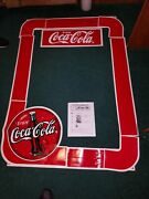Coca Cola Store Issued Original Advertising Store/ Sign Decals Real Co Issued