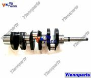 For Yanmar 3t82b Engine Crankshaft Forged Steel Made Fit Excavator Tractor