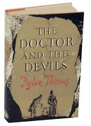 Signed Dylan Thomas Doctor And The Devils Literature 1953 First Uk Edition Dent