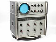 8551a/851a Hp Spectrum Analyzer System - Vintage 1960and039s - Needs Repair - As Is