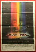 Star Trek The Motion Picture Movie Poster - Vintage Italian 39x55 Inches 1979