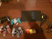 Sony Playstation 2 Controls Games Memory Cards And Accessories.