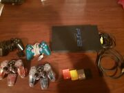 Sony Playstation 2, Controls, Games, Memory Cards, And Accessories.