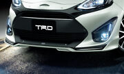 Trd Front Spoiler Lime White Pearl 082 For Toyota Aqua 1 Ms341-52022-a1