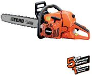 Chainsaw 20 In. 59.8cc Gas 2-stroke Cycle Rear Handle With Translucent Fuel Tank