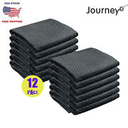 12pcs Moving Blankets 80 X 72 Pro Economy Quilted Shipping Furniture Pads Mats
