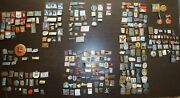 350 Set Soviet Cities Badges Pins Icons Ussr