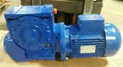 Nos Rossi Worm Gearmotor Mrv100 Uo2a 4kw 321 Ratio 1-7/8 Shaft D4