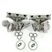 Billet 6+6 17t States 3 Twin Turbo Chargers Td04l Bmw E90 E92 E93 335i N54 700hp
