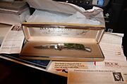 Buck 112 Knife New U.s.a. Ducks Unlimited Canada 50 Yrs Conservation 1938-1988