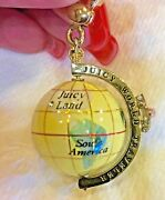 Juicy Couture World Traveler Globe Charm, Extremely Hard To Find