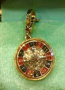 2005 Juicy Couture Roulette Wheel Charm Vhtf Yjru0507