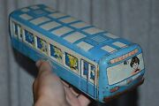 Very Rare Toy 1960s Vintage Russian Soviet Ussr Car Old СССР Metal Trolley Bus