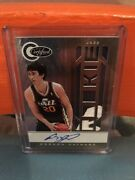 2011 Panini Leaf Certified Gordon Hayward Rookie Auto Patch Gold Version Andrsquod 25