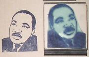 Martin Luther King Jr Rubber Stamp By Amazing Arts