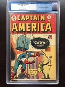 Captain America 71 Cgc Fn+ 6.5 Ow Tough To Find