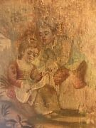 Aubusson Tapestry 19th Cent Children Caring For Bird Submit Best Offer Framed