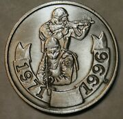 United States Marshal Special Operations Group 1971-1996 Doj Challenge Coin Sil