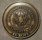 On-site Inspection Agency Europe Pres Reagan Trust But Verify Challenge Coin