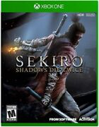 Sekiro Shadows Die Twice For Xbox One [new Video Game] Xbox One
