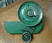John Deere 726 826 Snowblower Pulley M45189 Friction Plate Am33254 Assembly Nice