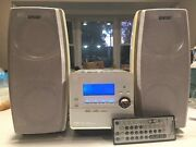 Rare Most Complete Minidisc Sony Cmt-ah10 Mini-sistem With Hi-md/cd/tape/tuner