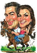 Custom Caricature From Your Photo