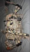 Hunting Pack Backpack Duck Deer Turkey Carry Camping Bow Rifle Holder Camo Store