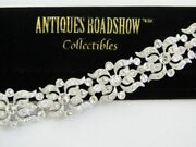 Stunning Antiques Roadshow Colletibles Crystal Simulated Diamond Bracelet