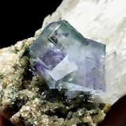 550gnatural Rare Cubic Blue Phantom Fluorite Crystal Clusters And Crystals China