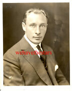 Vintage Lionel Atwill Handsome And03933 Early Publicity Portrait By White Studios