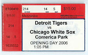 Opening Day White Sox At Tigers 4/10/2006 Jim Thome Home Run 434 Konerko Hr