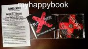Signed The Heroin Diaries Soundtrack Sixx A.m. Cd Autographed By Nikki Sixx