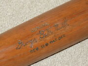 Babe Ruth Handb Vintage Baseball Bat New York Yankees Hof