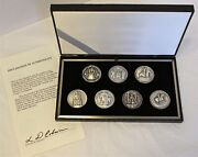 Royal Seals Of The Jubilee Monarchs - .999 Fine Silver Medals - 239/1500